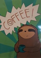 Coffee-drinking slot by La Ru